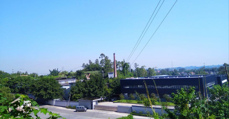 工廠鳥瞰圖